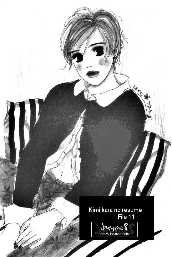 Kimi Kara no Resume 11 Page 1