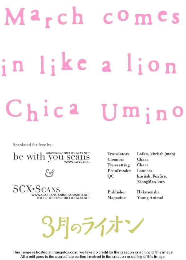 Sangatsu No Lion 10.5 Page 1