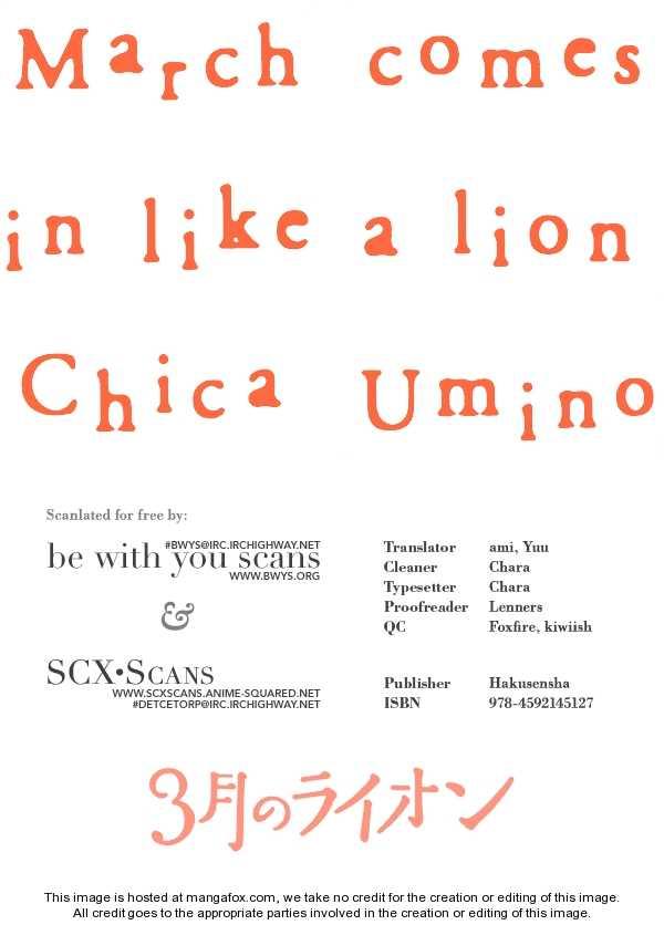 Sangatsu No Lion 11 Page 1