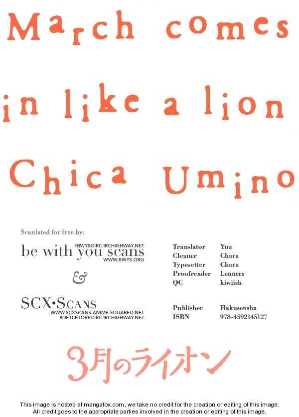 Sangatsu No Lion 13 Page 1