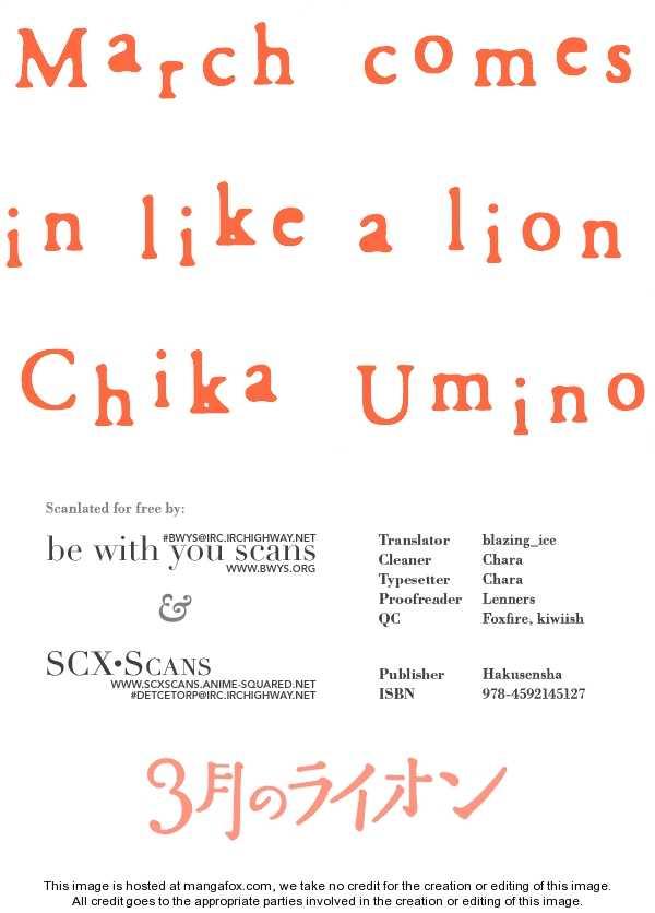 Sangatsu No Lion 16 Page 1