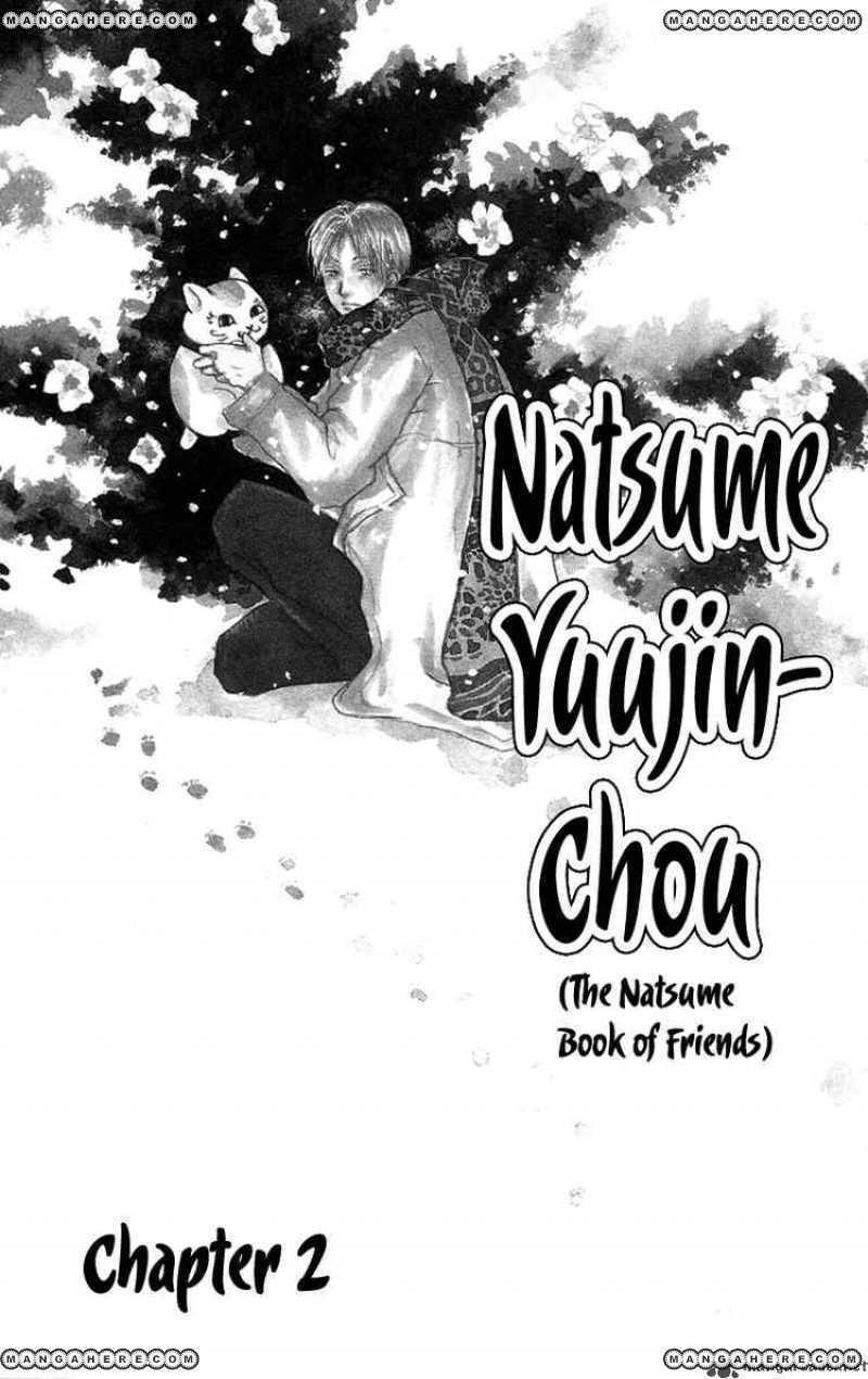Natsume Yuujinchou 2 Page 1