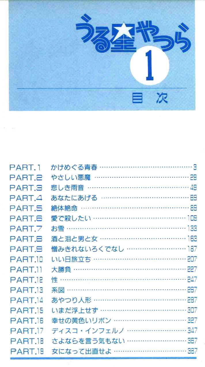 Urusei Yatsura 1 Page 3