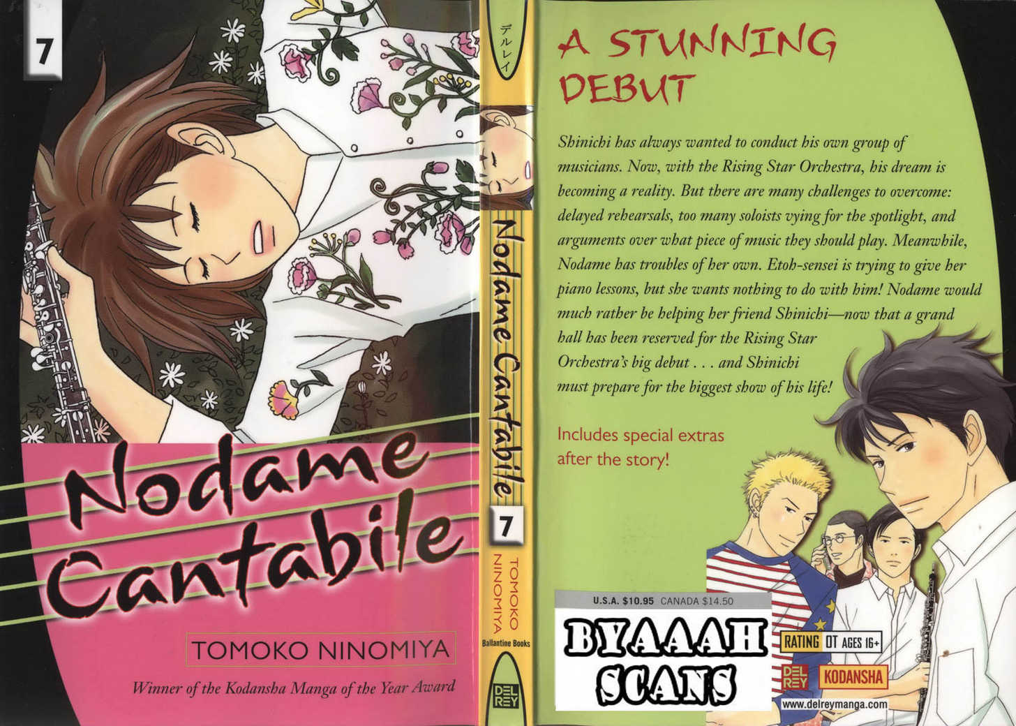 Nodame Cantabile 35 Page 1