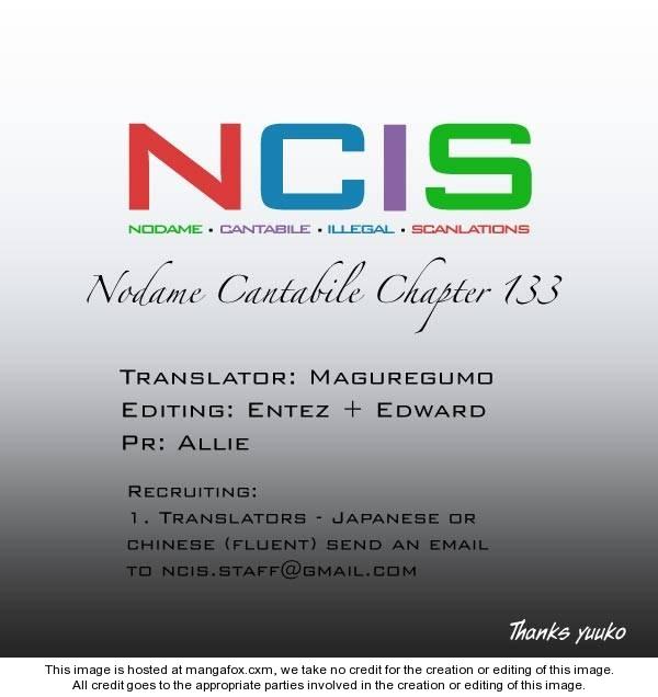 Nodame Cantabile 133 Page 1