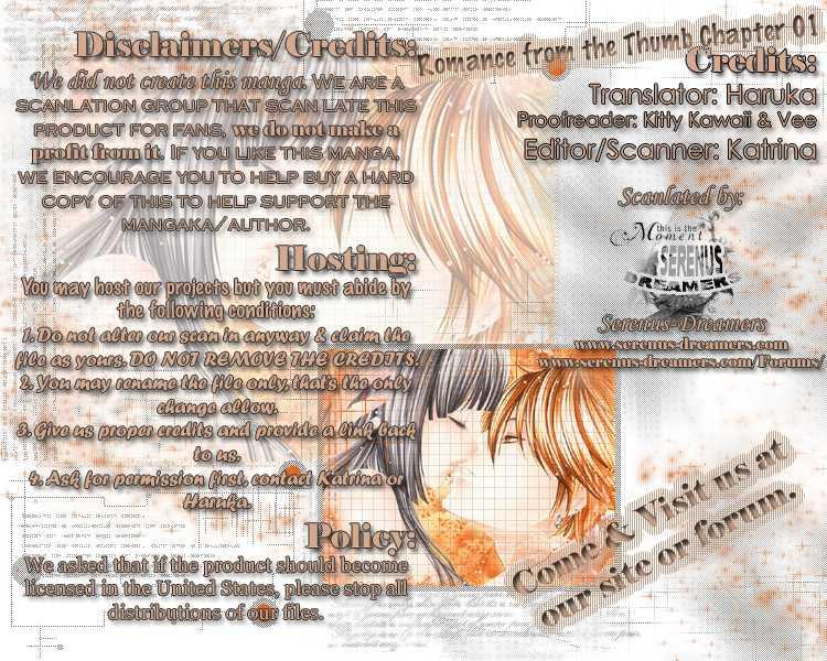Oyayubi kara Romance 1 Page 1