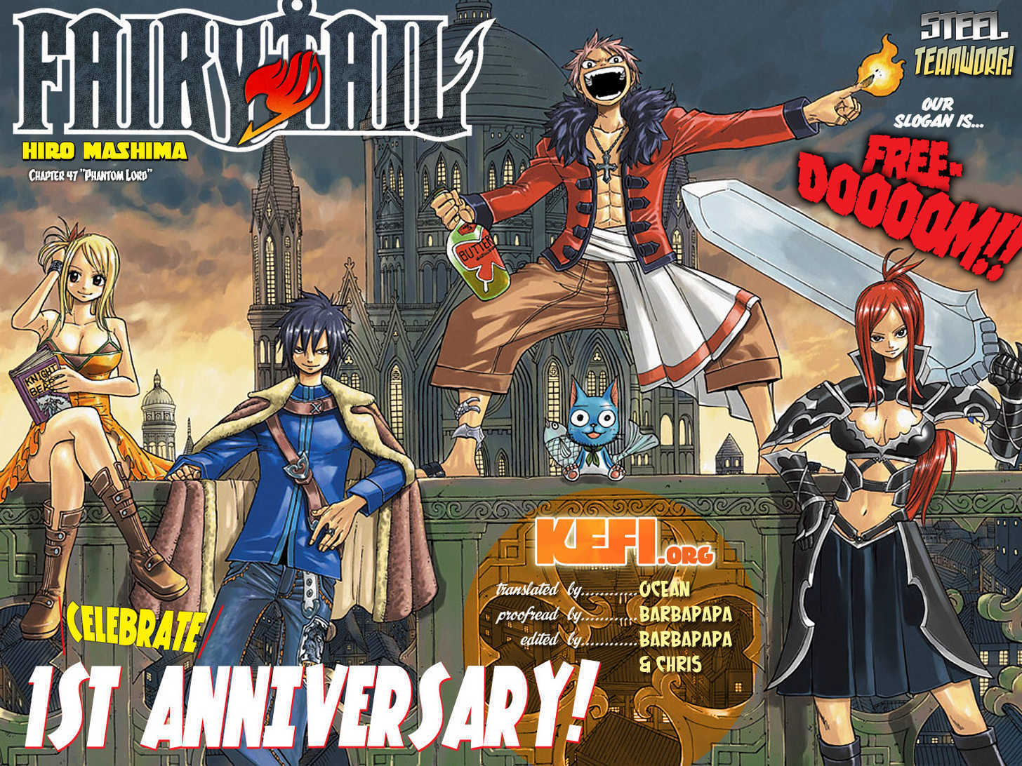 Fairy Tail 47 Page 3