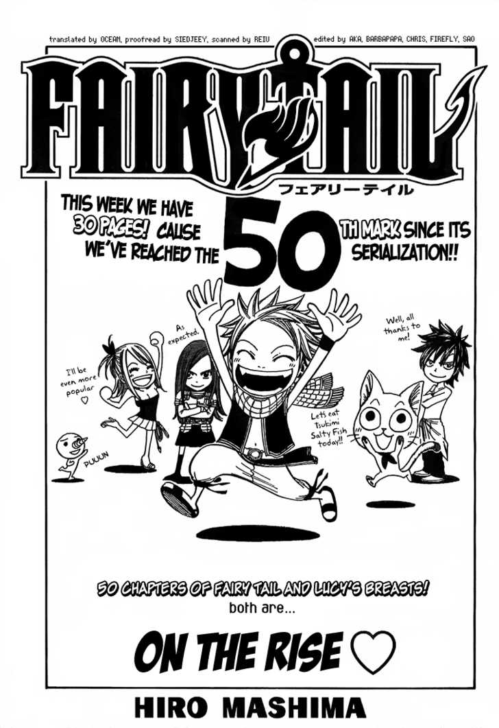 Fairy Tail 50 Page 1