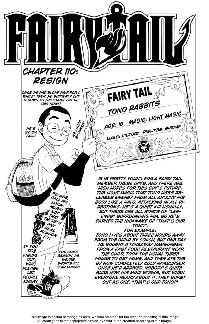 Fairy Tail 110 Page 1