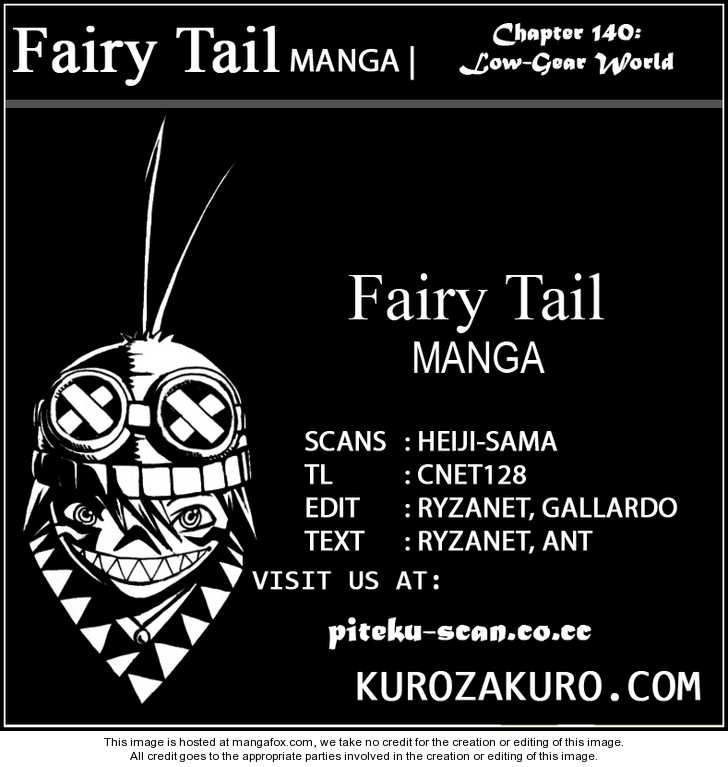 Fairy Tail 140 Page 1
