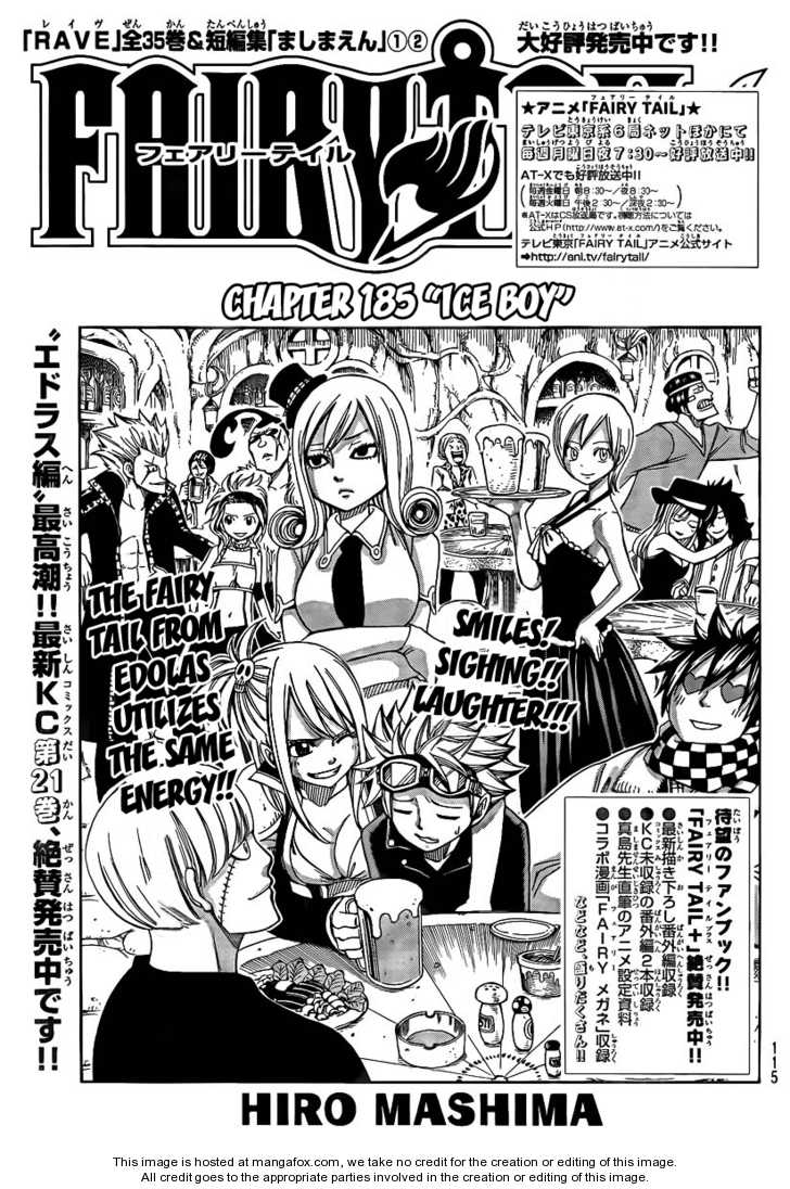 Fairy Tail 185 Page 1