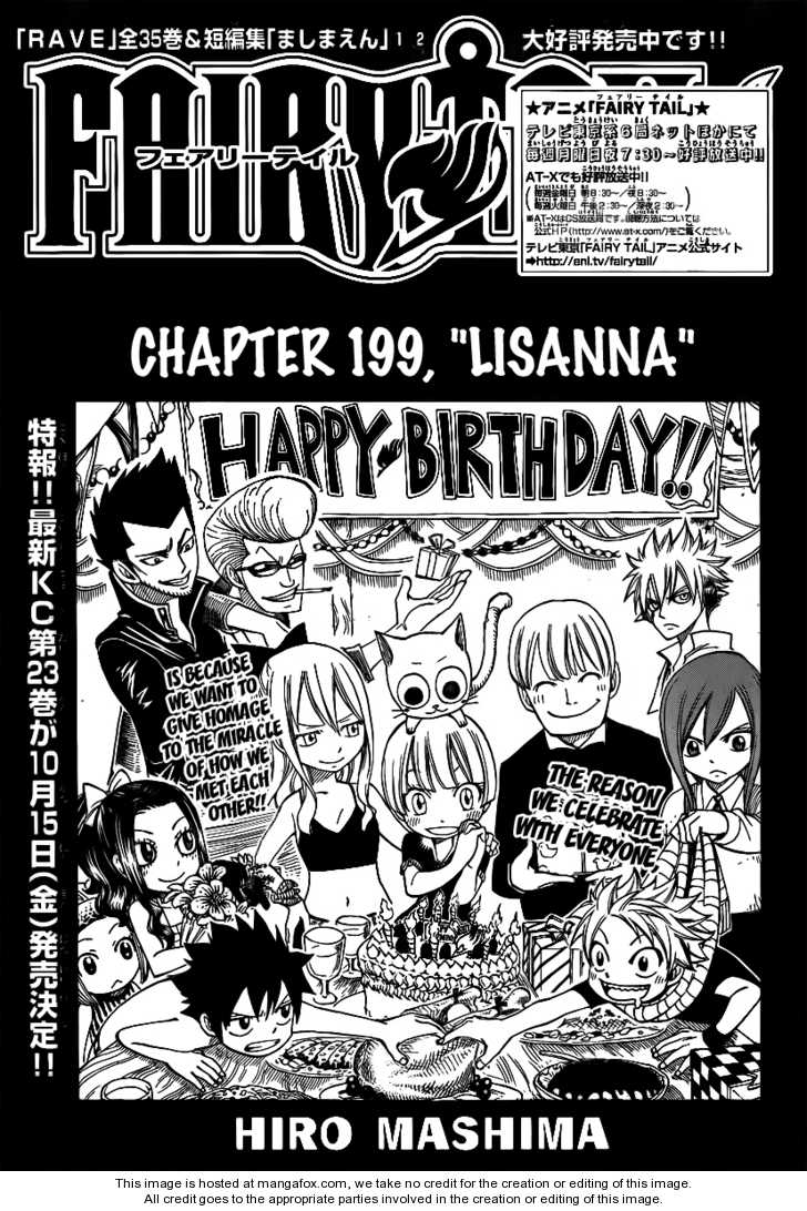 Fairy Tail 199 Page 1
