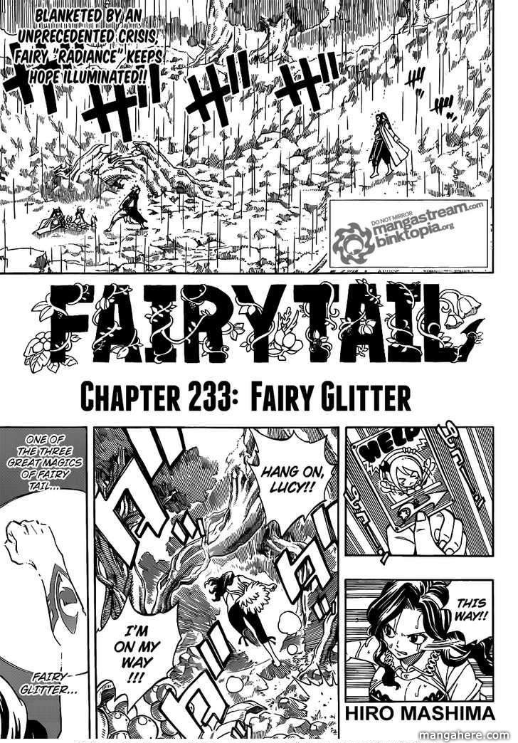 Fairy Tail 233 Page 1