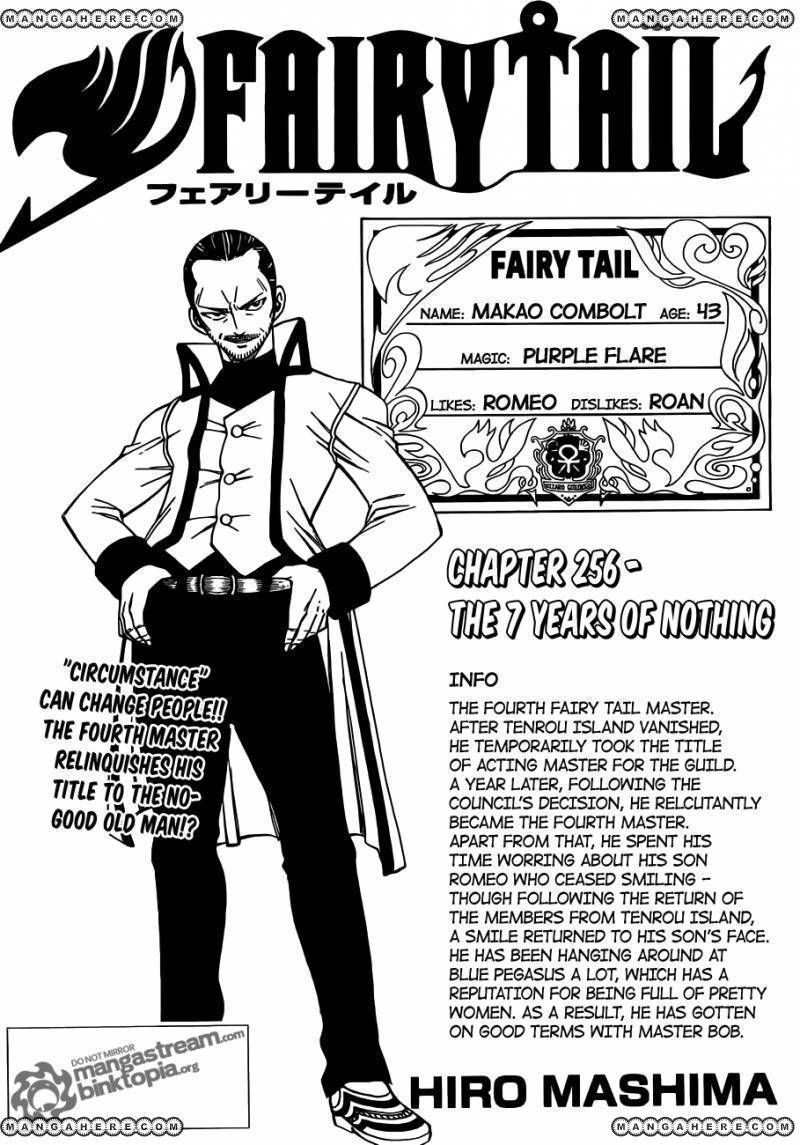 Fairy Tail 256 Page 1