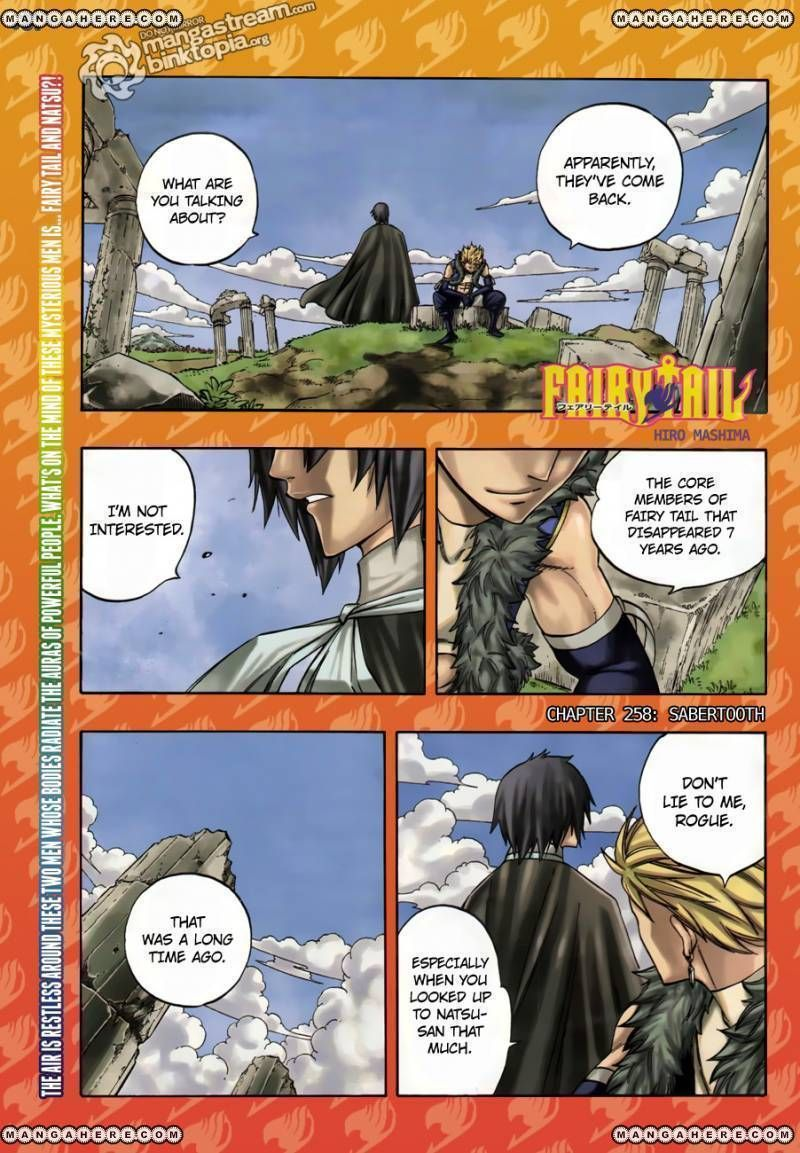 Fairy Tail 258 Page 1