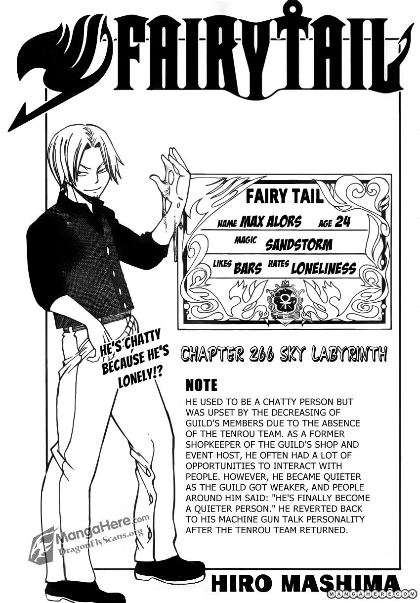 Fairy Tail 266 Page 2