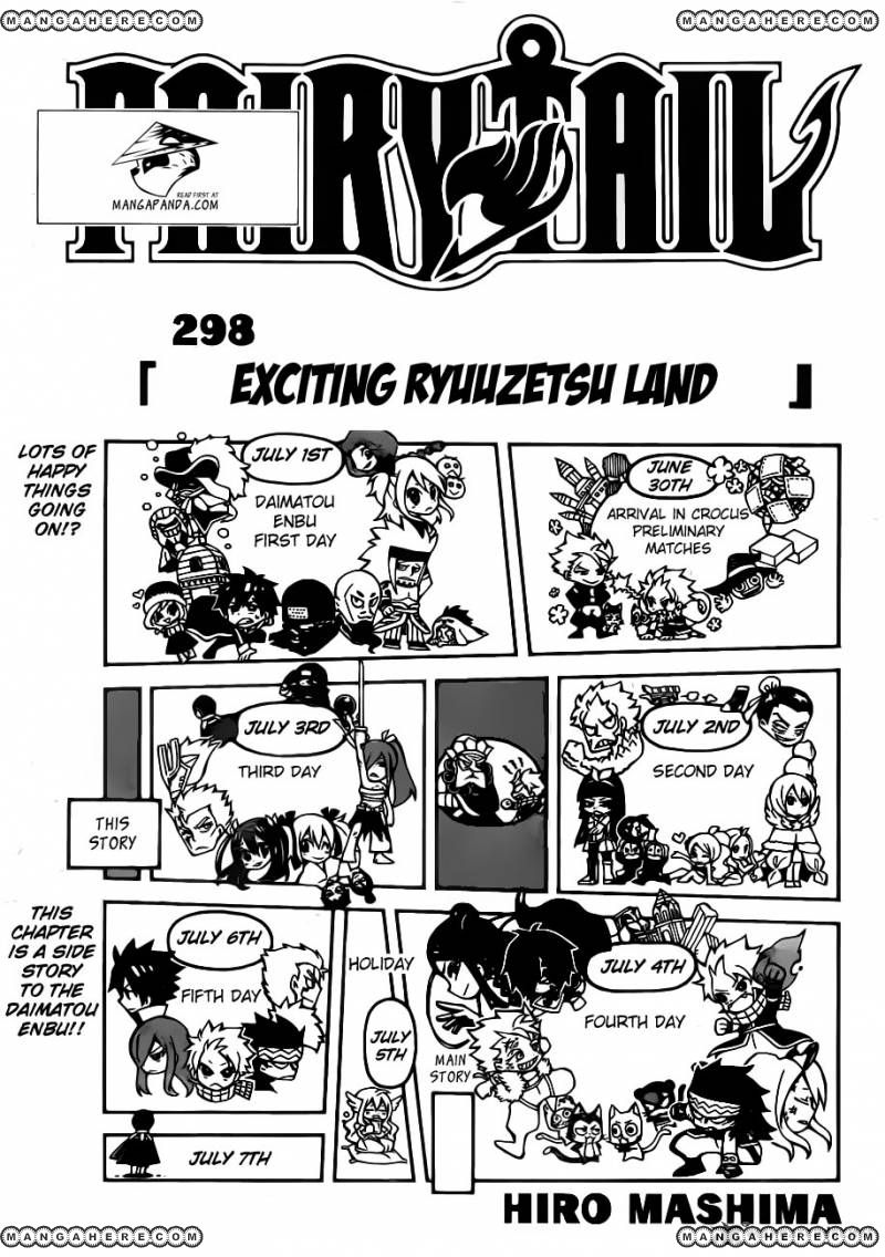 Fairy Tail 298 Page 1