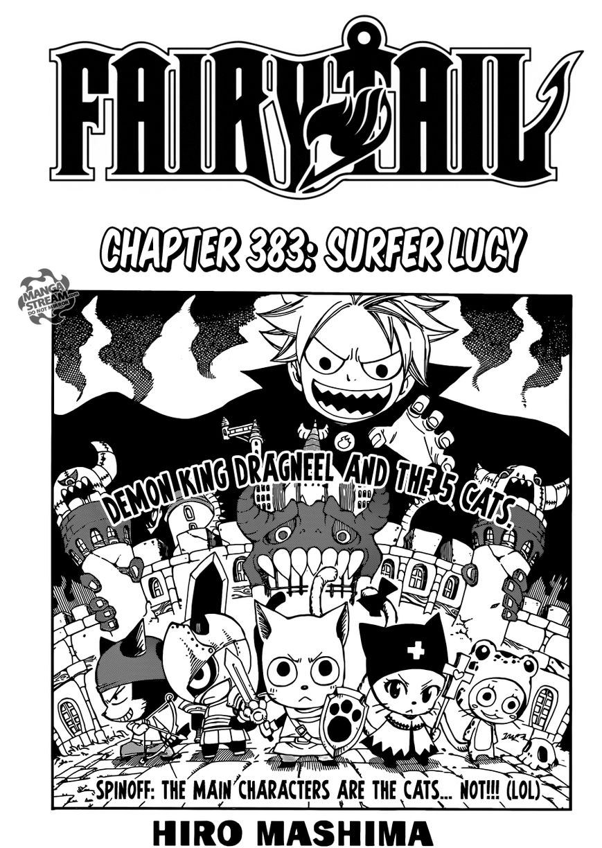 Fairy Tail 383 Page 1