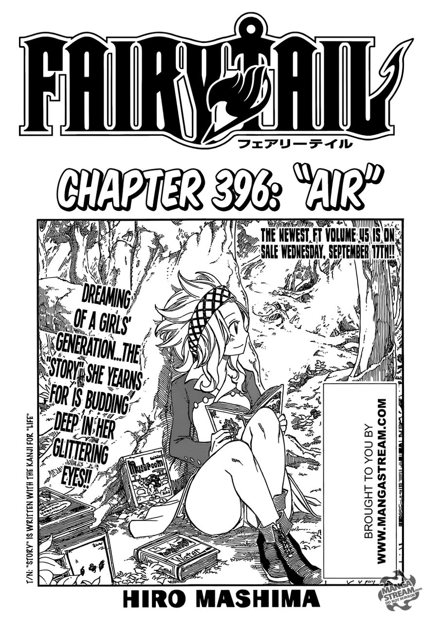 Fairy Tail 396 Page 1