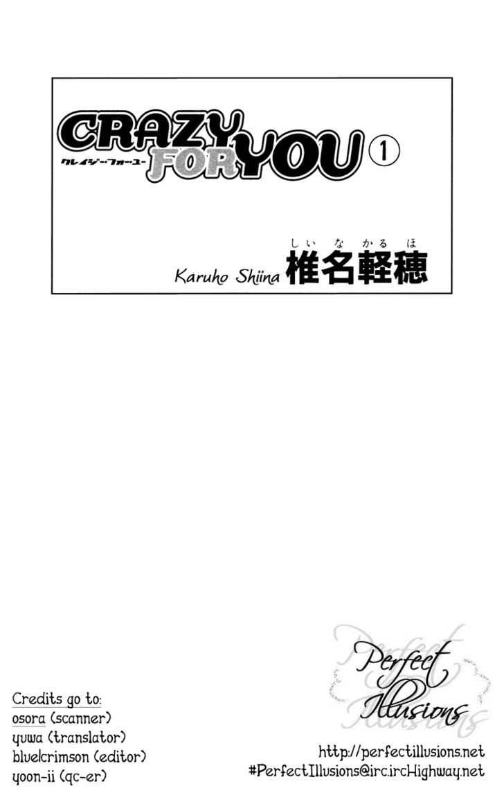 Crazy for You (Shoujo) 1 Page 2