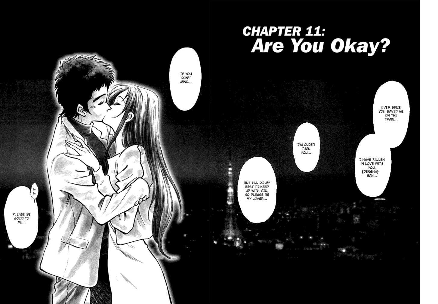 Densha Otoko - Net Hatsu, Kakueki Teisha no Love Story 11 Page 3