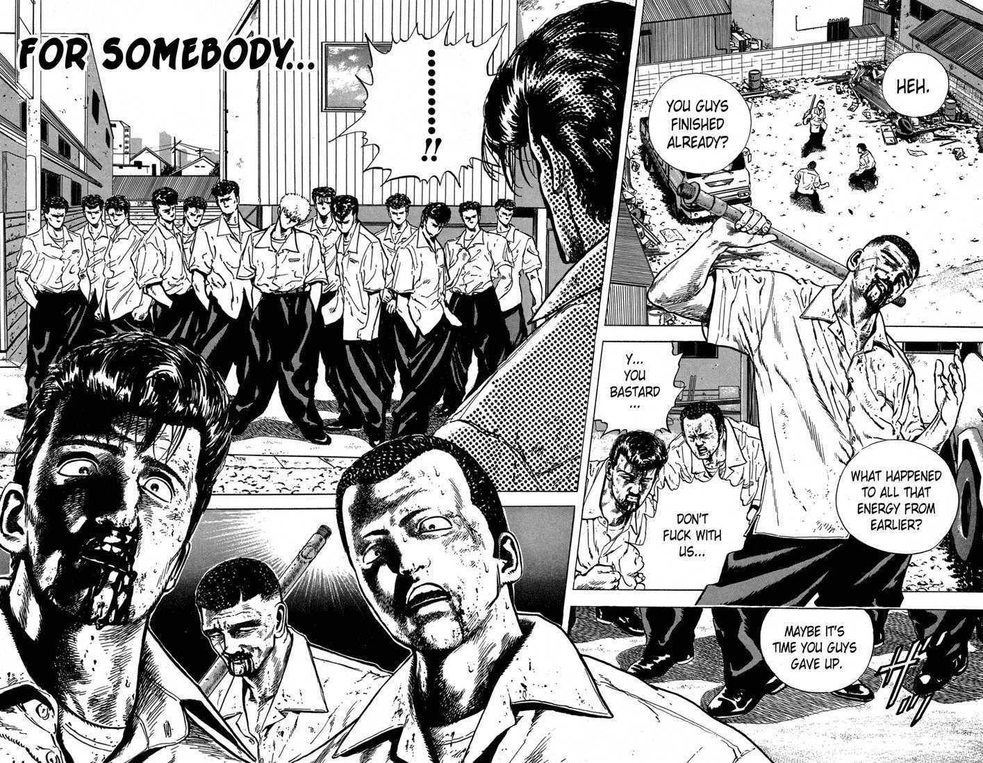 Rokudenashi Blues 11 Page 1