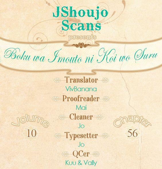 Boku wa Imouto ni Koi wo Suru 56 Page 1