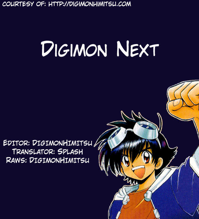 Digimon Next 3 Page 1