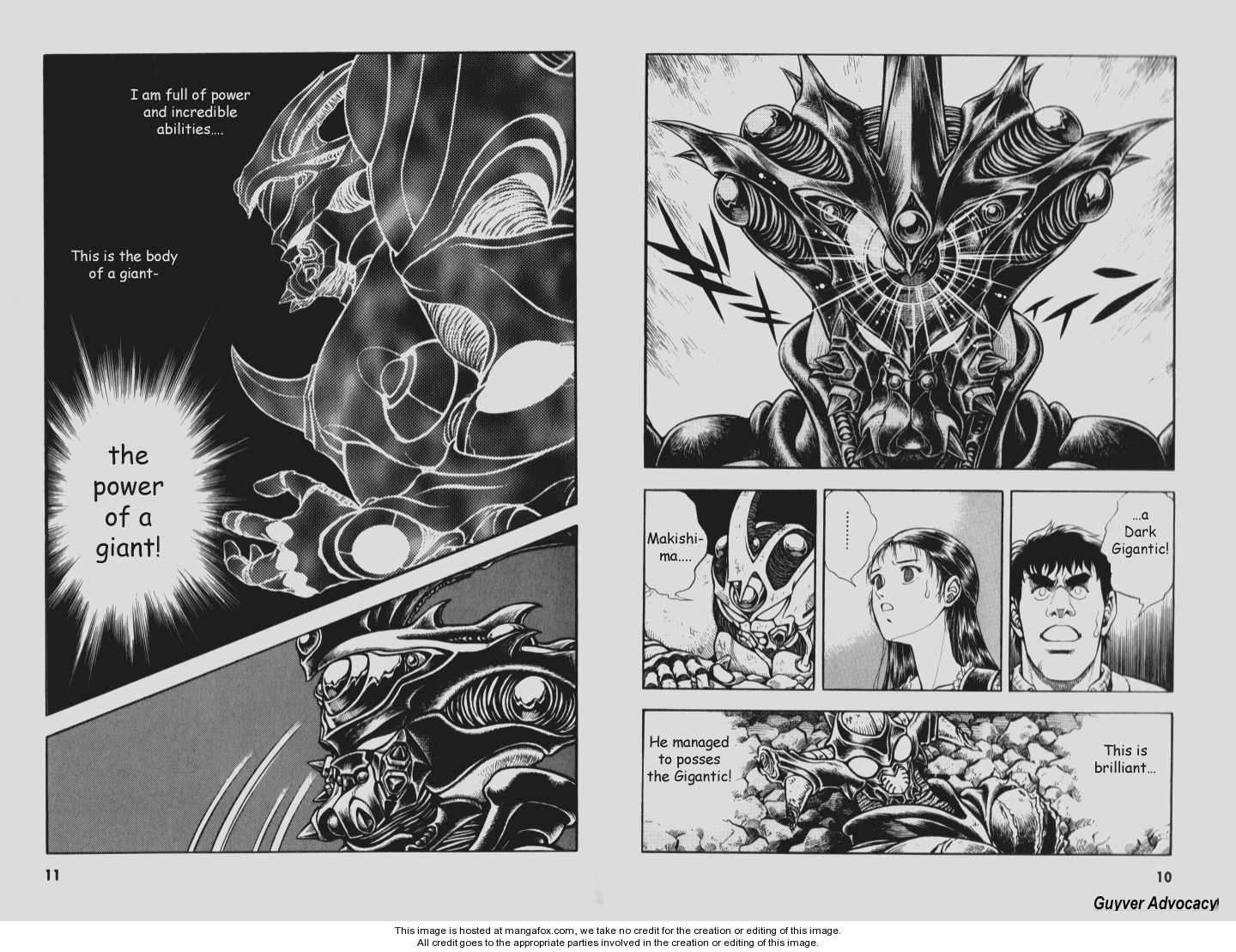 Guyver 0 Page 4