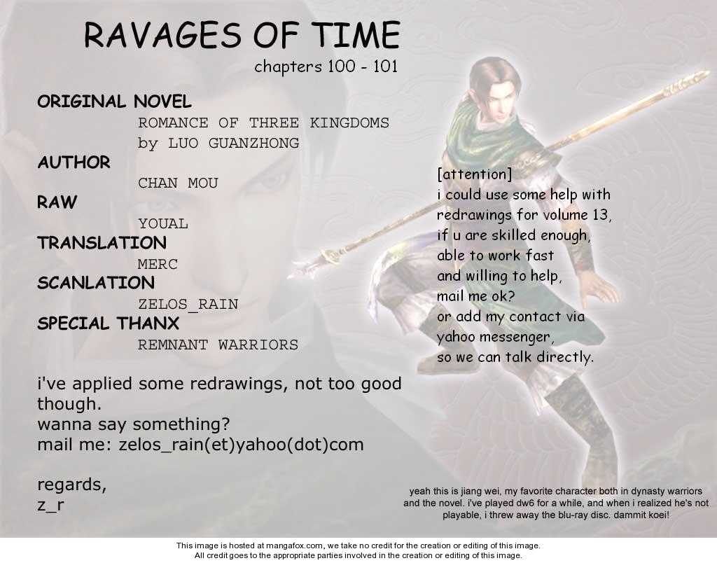 The Ravages of Time 100 Page 1
