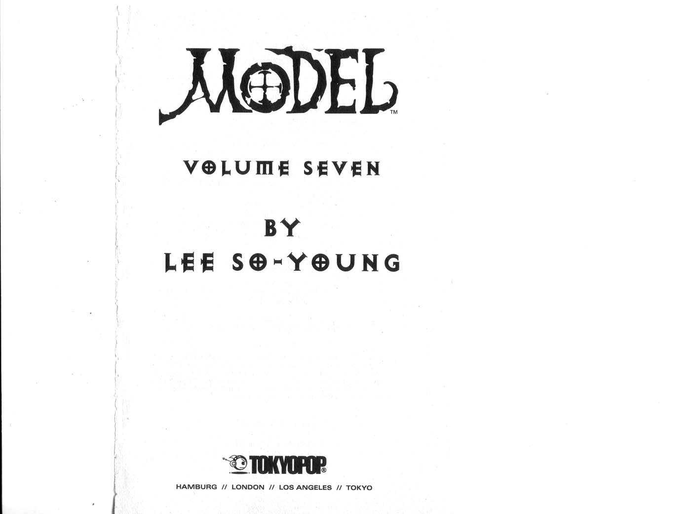 Model(LEE So Young) 7 Page 1