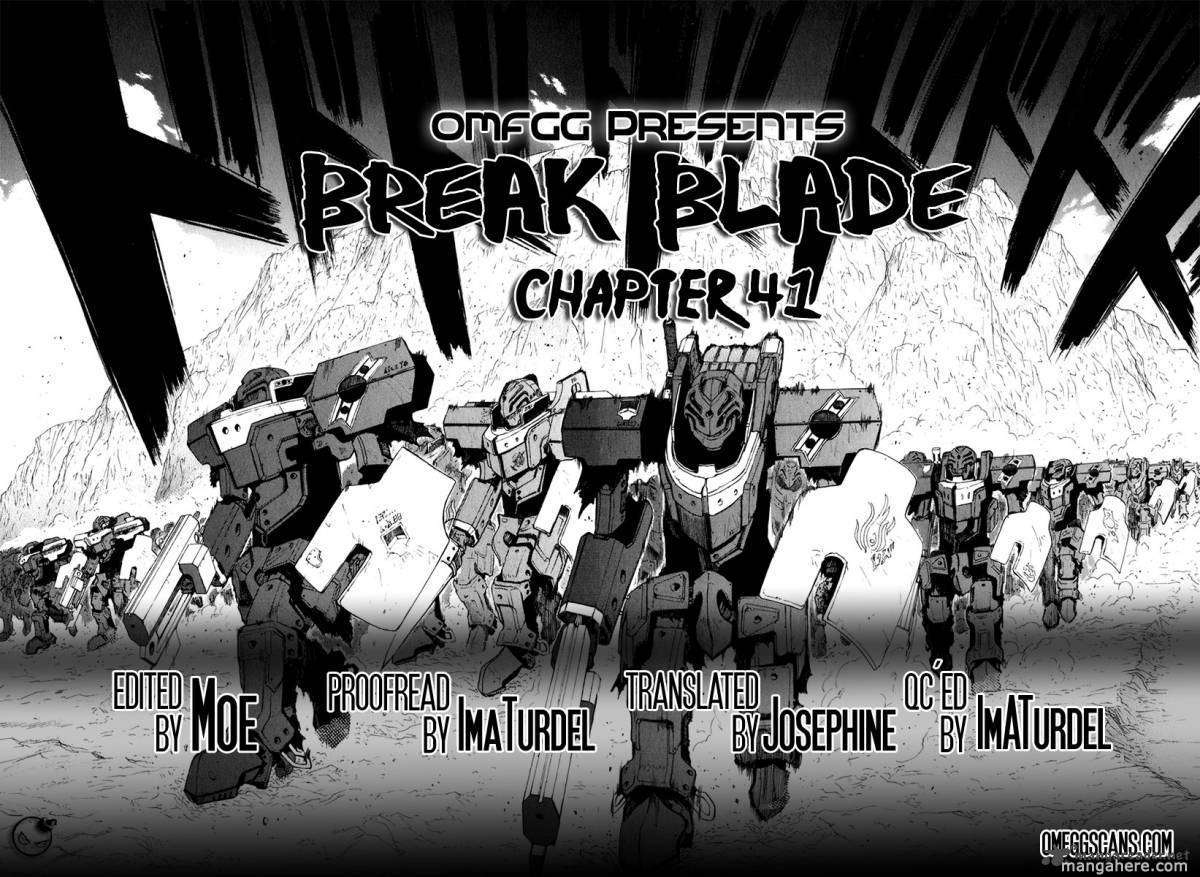 Break Blade 41 Page 1