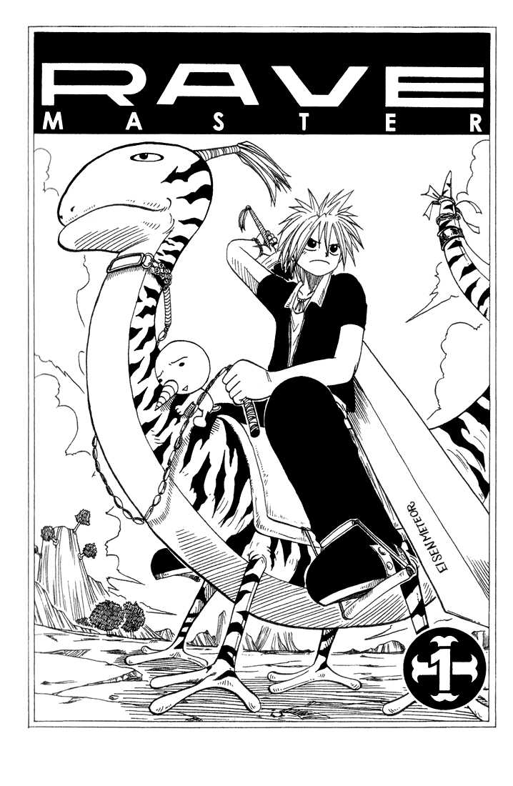 Rave Master 1 Page 2