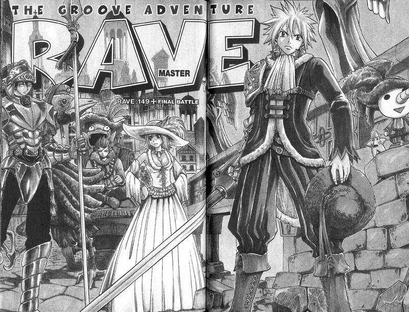 Rave Master 149 Page 1