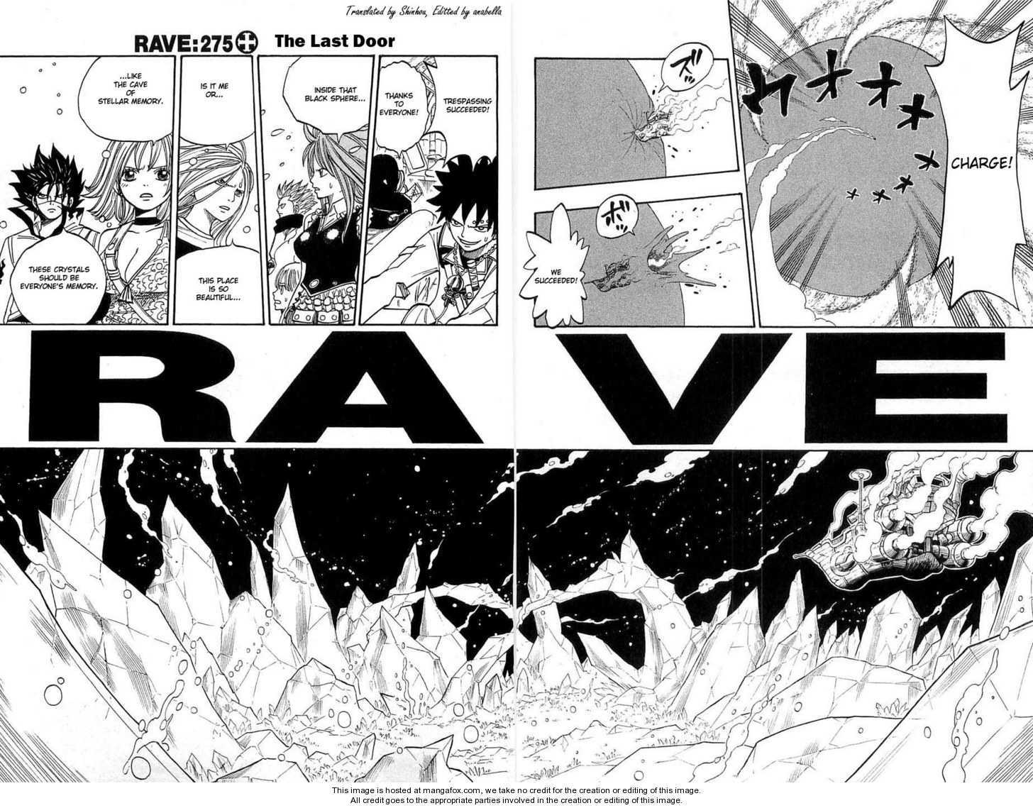 Rave Master 275 Page 1