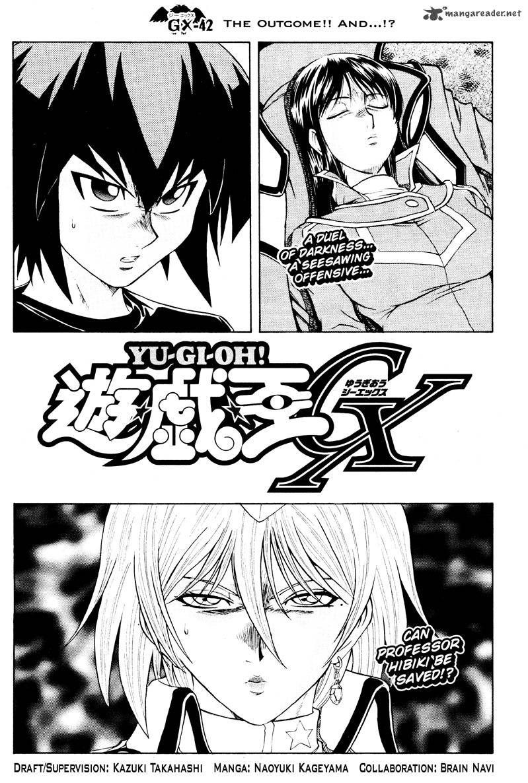 Yu-Gi-Oh! GX 42 Page 1