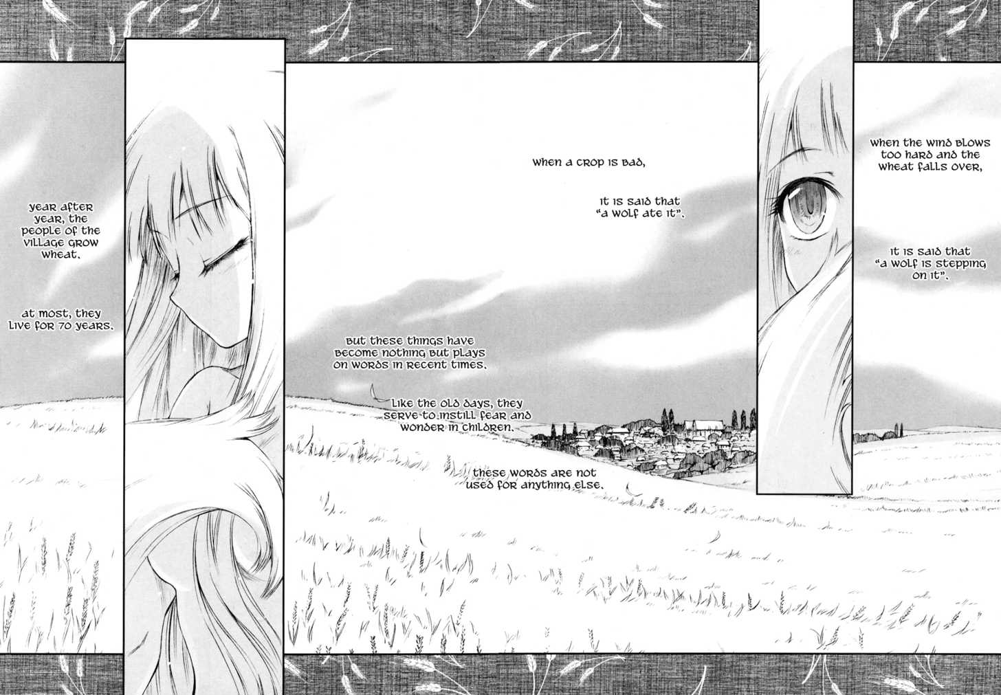 Spice and Wolf 1 Page 3