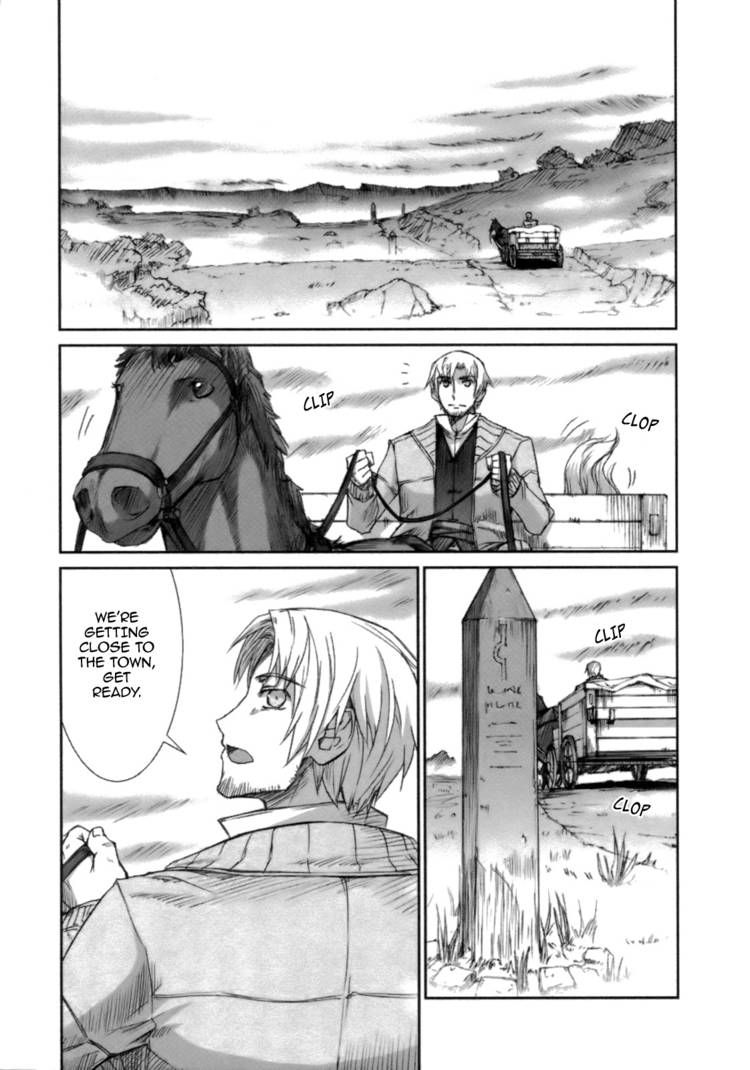 Spice and Wolf 18 Page 1