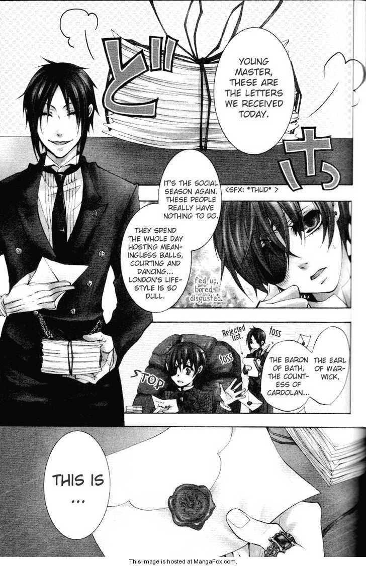 Kuroshitsuji 6 Page 1