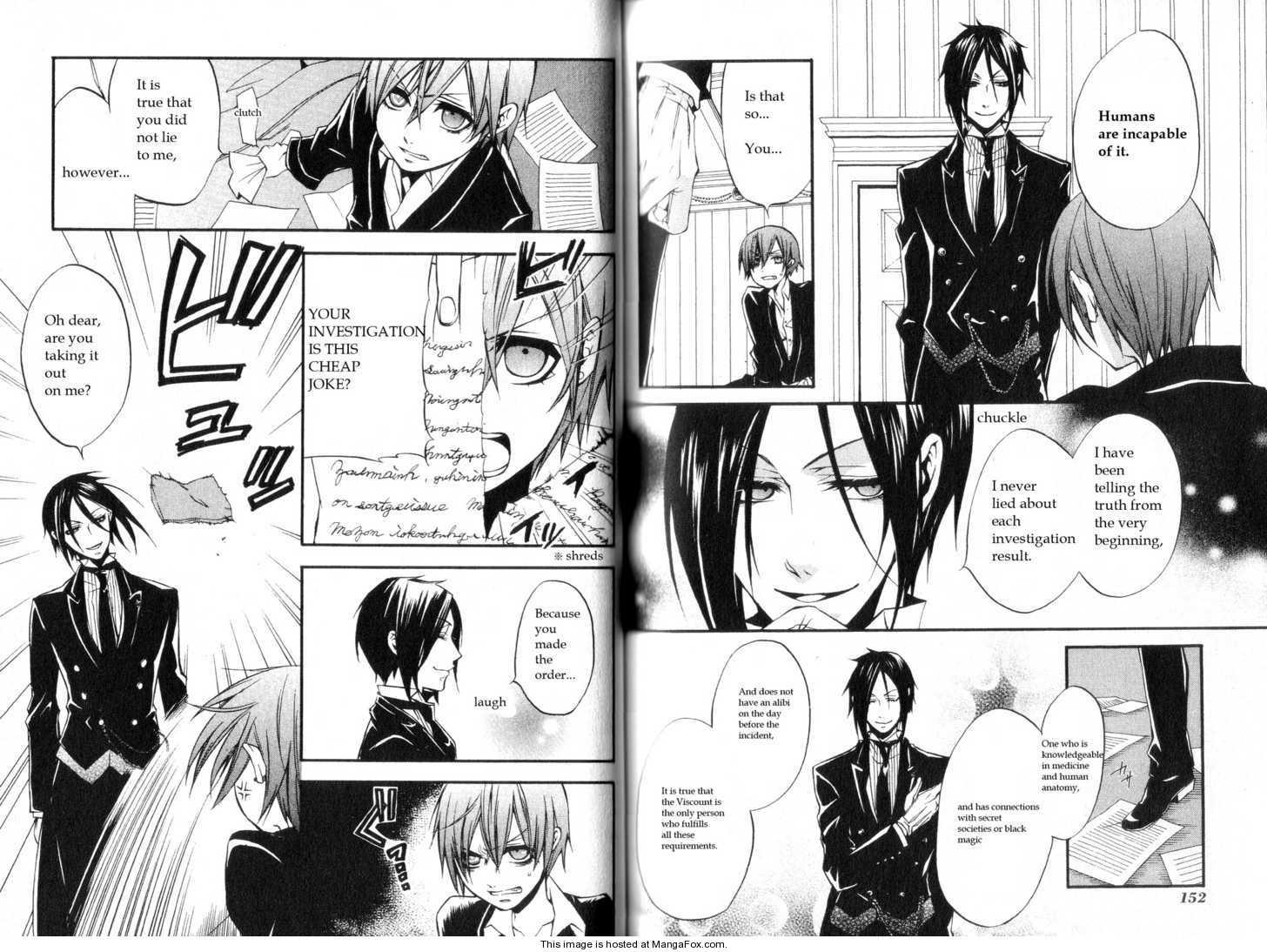 Kuroshitsuji 9 Page 4