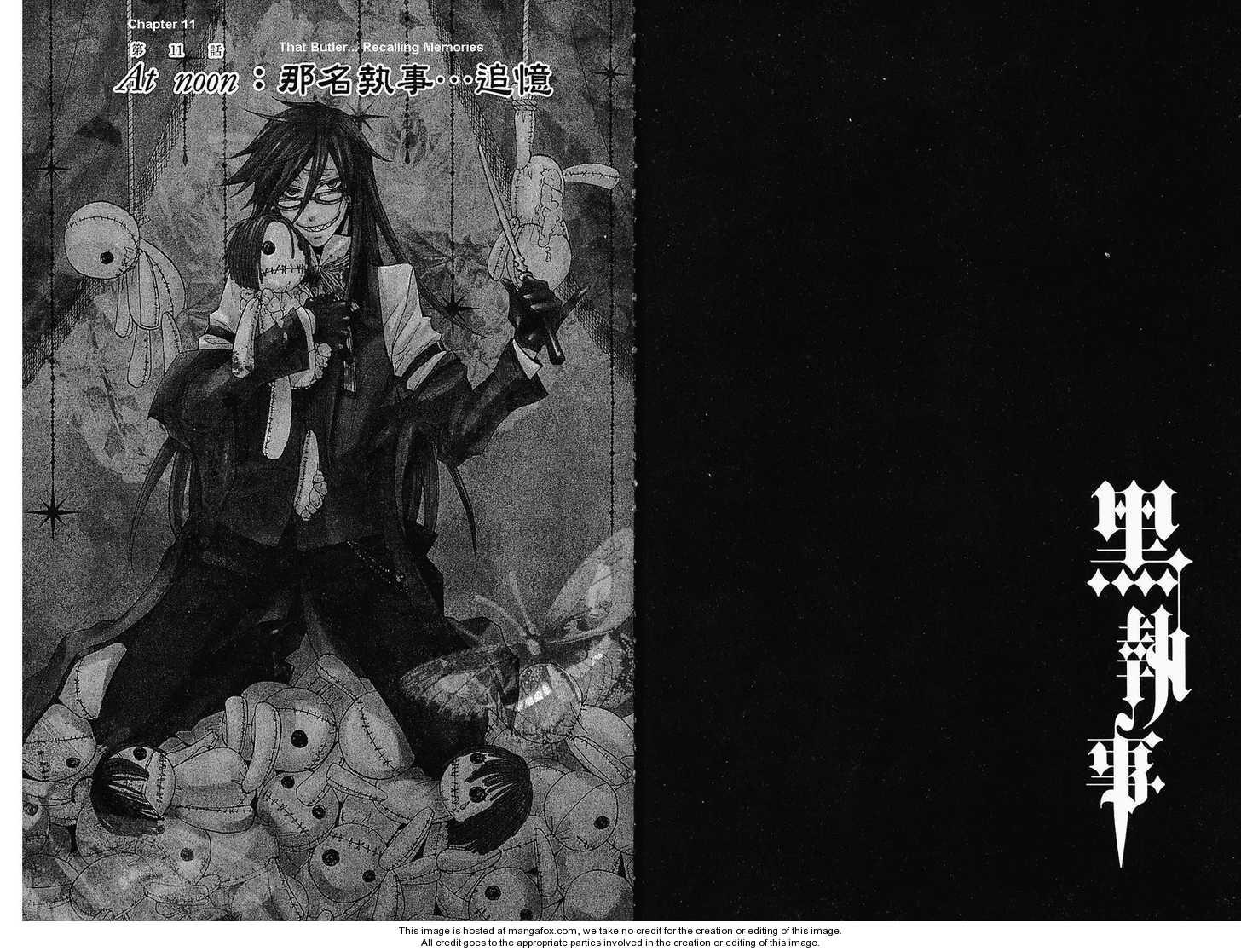 Kuroshitsuji 11 Page 1