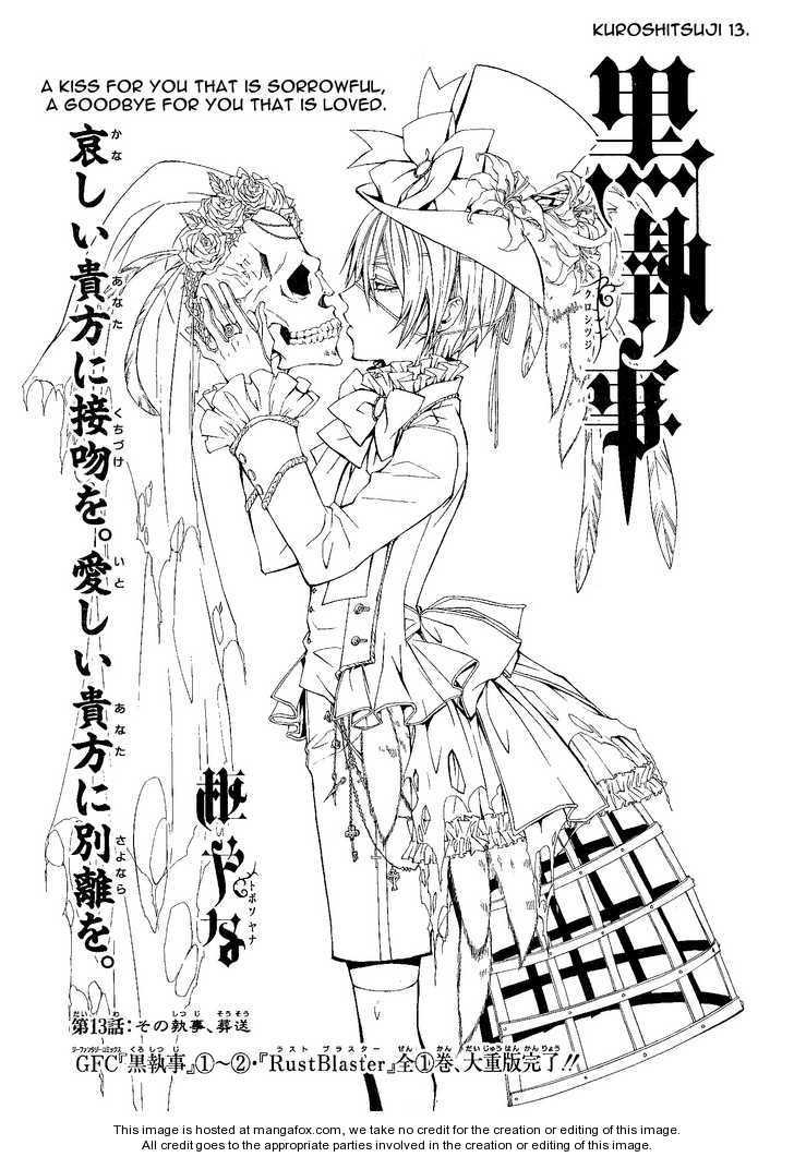 Kuroshitsuji 13.1 Page 1