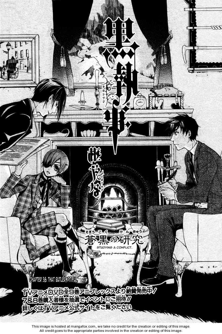 Kuroshitsuji 38 Page 1