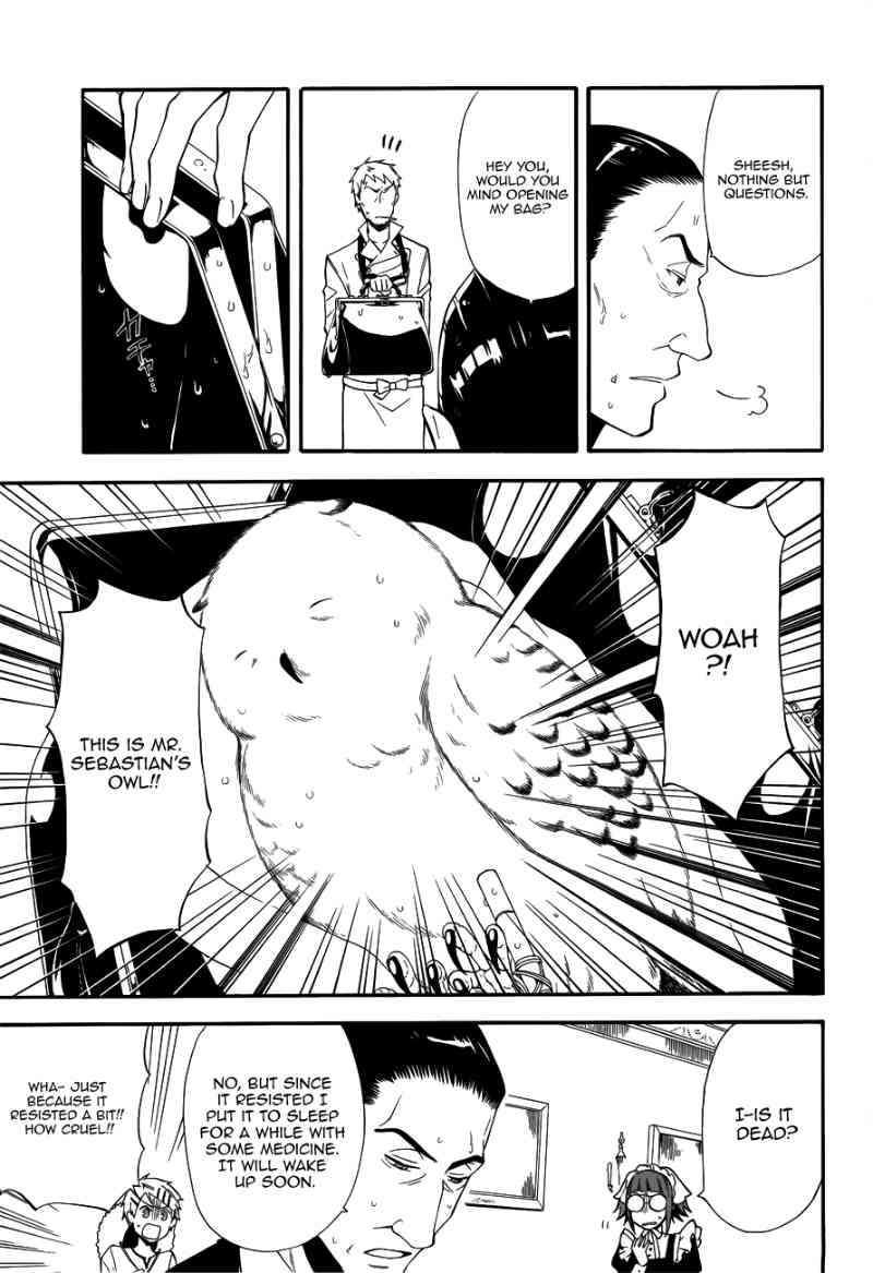 Kuroshitsuji 45 Page 9