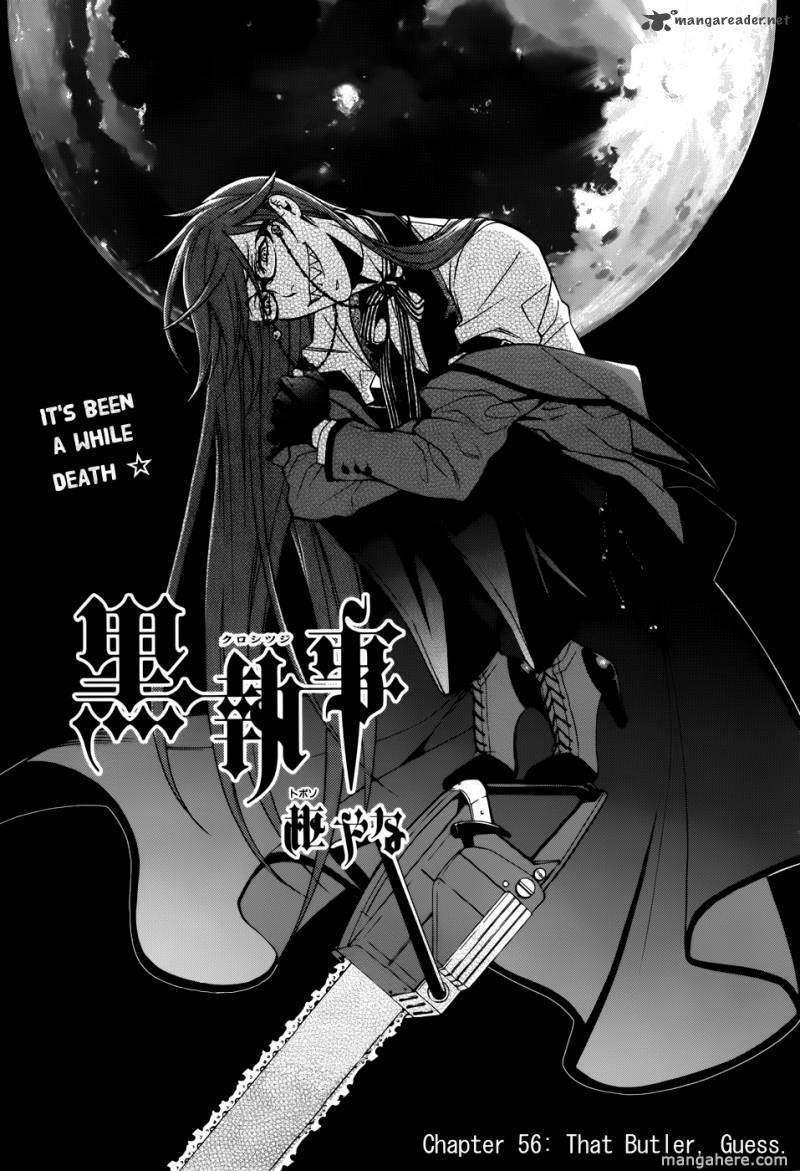Kuroshitsuji 56 Page 1