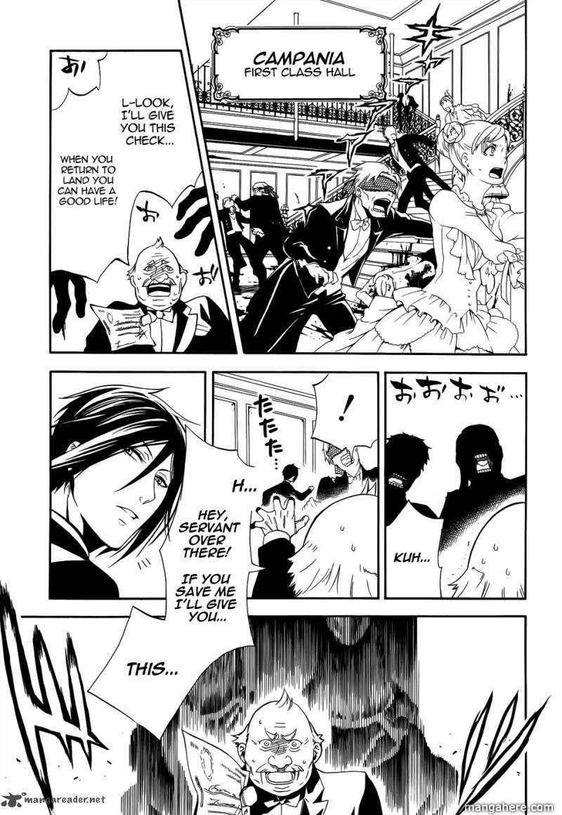 Kuroshitsuji 57 Page 3