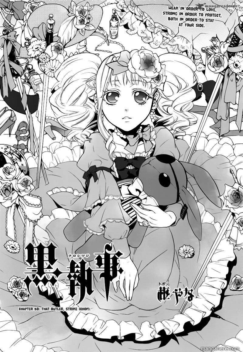 Kuroshitsuji 58 Page 1