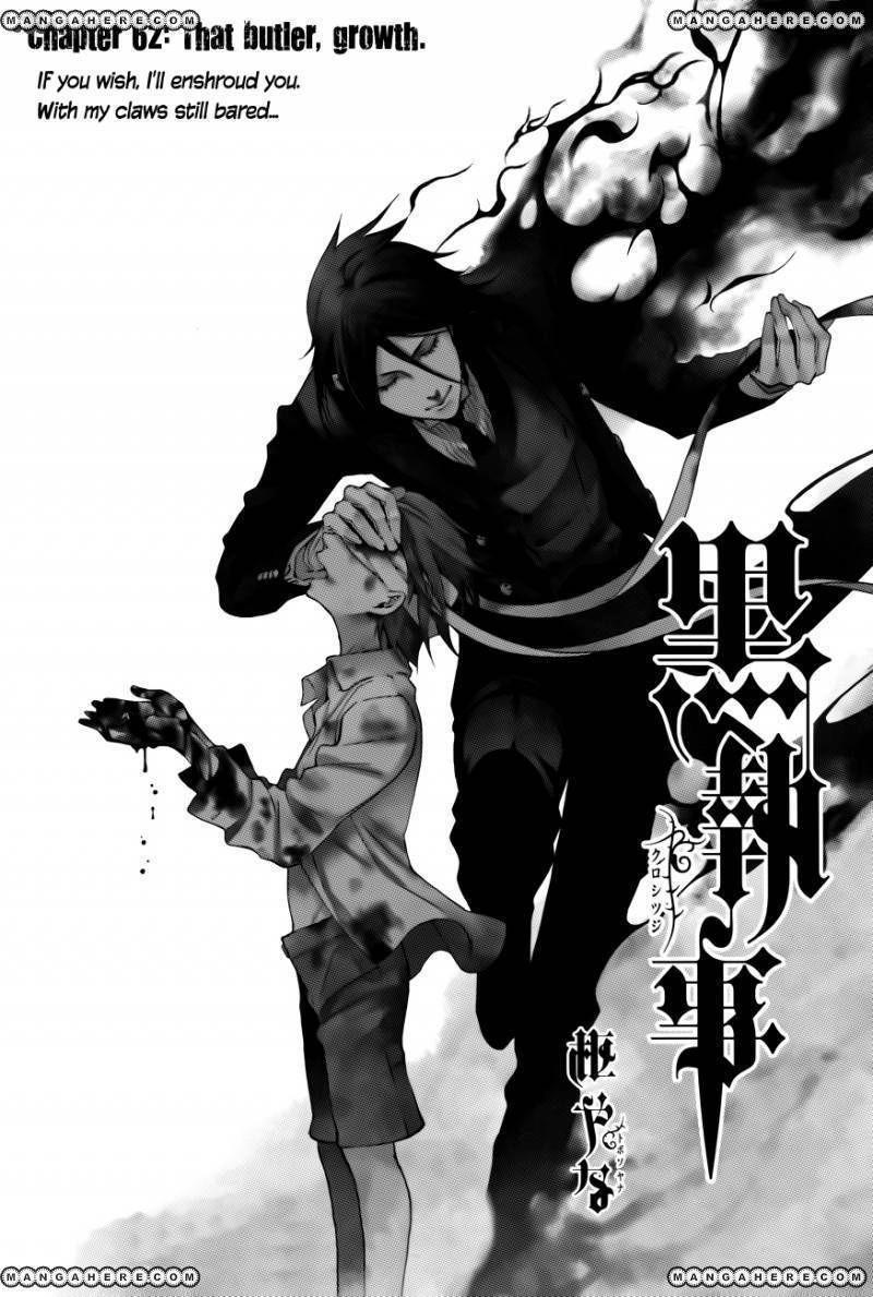 Kuroshitsuji 62 Page 1