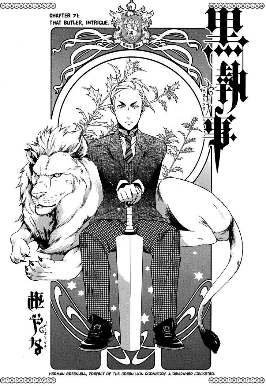 Kuroshitsuji 71 Page 1