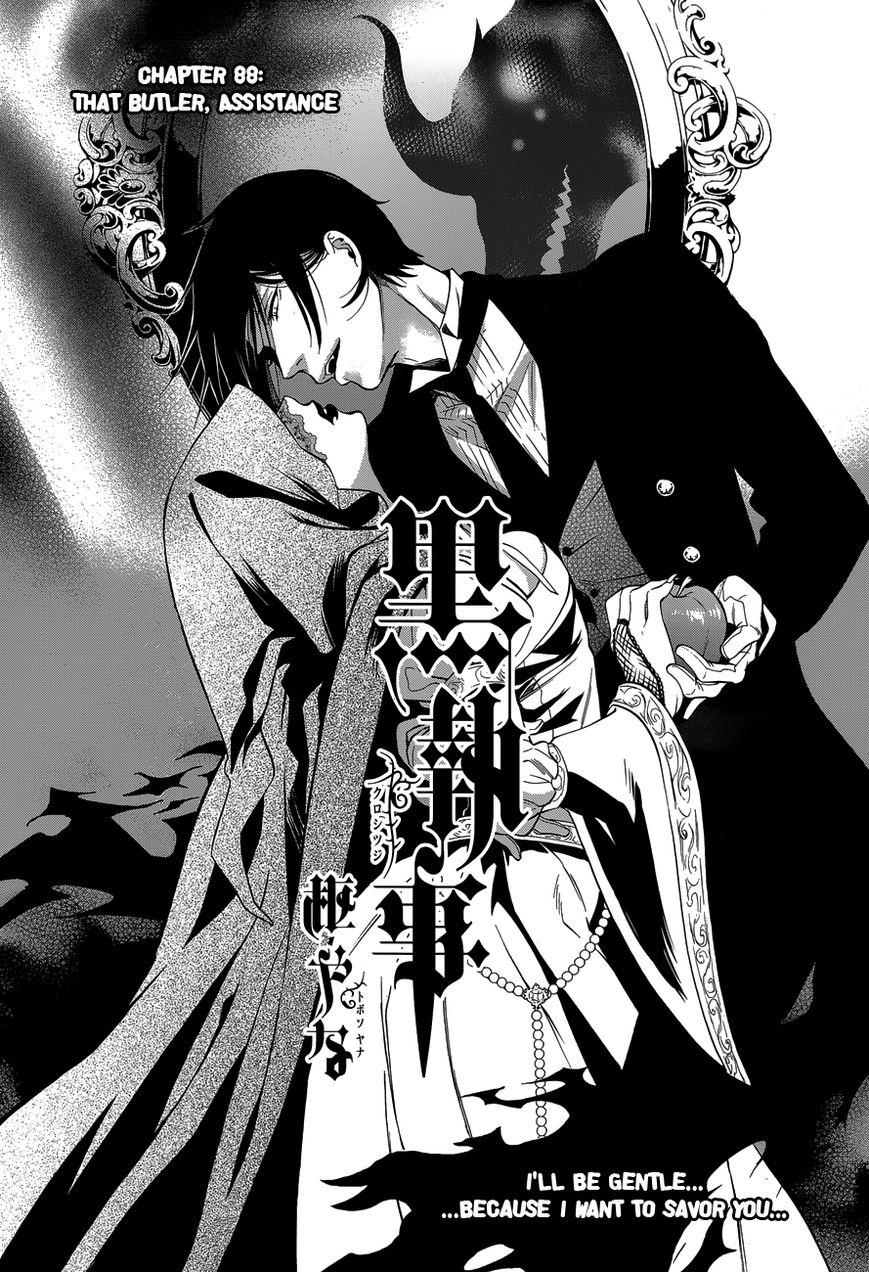 Kuroshitsuji 88 Page 2
